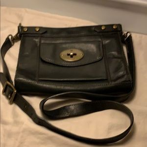 OFFERS ONLY Beautiful Grey Vintage Fossil Purse